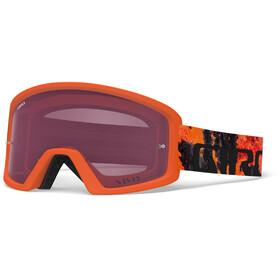 Giro Tazz MTB - Masque - orange/rouge